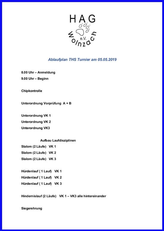 ablaufplan ths turnier 05.05.2019